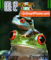 Toads theme screenshot