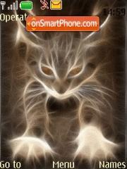Fire Cat es el tema de pantalla