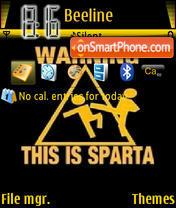 Sparta es el tema de pantalla
