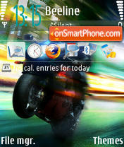 Speed 02 theme screenshot