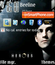 Скриншот темы Heroes 1 Def.Icons