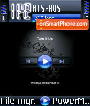 Windows Media Player theme screenshot