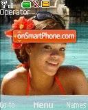 Rihanna At Pool es el tema de pantalla