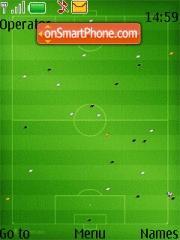 Football Ground 6300 theme screenshot