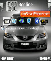 Mazda3 theme screenshot