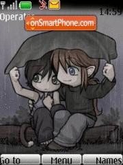 Lovers In Rain es el tema de pantalla