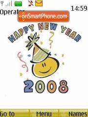 New Year 2008 02 theme screenshot