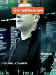 Скриншот темы Bourne Ultimatum