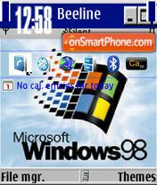 Wini98 V2 theme screenshot