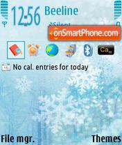 Capture d'écran Winter v2 thème