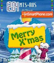 Merry Xmas 01 es el tema de pantalla