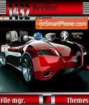 Скриншот темы Audi Car Ver3