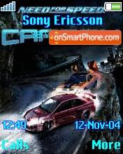 Need for Speed Carbon theme screenshot