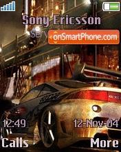 NFS Pro Street theme screenshot