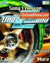 Sony Ericsson Nfs Underground theme screenshot