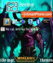 Скриншот темы World of Warcraft