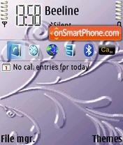 Скриншот темы Pattern