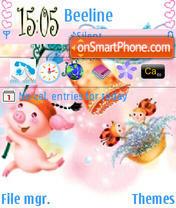 Capture d'écran Happy Fly thème