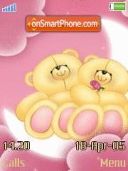 Love Teddies theme screenshot