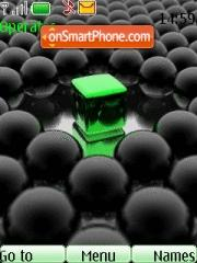Green Crystal theme screenshot