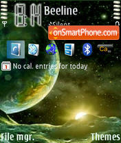 Cosmos theme screenshot