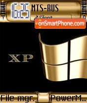 XP Gold theme screenshot