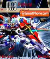 Gundam Force Shinn theme screenshot