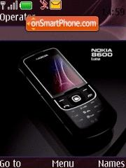 Luna Nokia 8600 theme screenshot