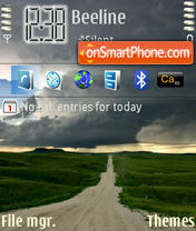 LongRoad theme screenshot