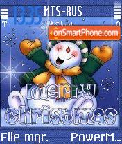 Merryxmas 01 es el tema de pantalla