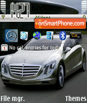 Benz theme screenshot