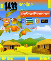 Dream Village Ver1 S60v3 theme screenshot