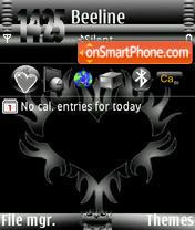 Black Heart Ver1 theme screenshot