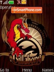 Capture d'écran Billa Bong thème
