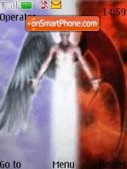 Capture d'écran Angel thème