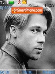 Brad Pitt 01 es el tema de pantalla