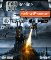 Dragons theme screenshot