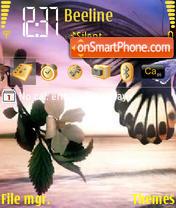 Peace Butterfly es el tema de pantalla