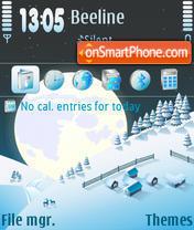 Скриншот темы Winter 08