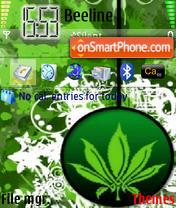 Green Leaf 01 theme screenshot