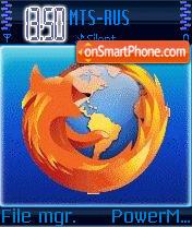 Скриншот темы Animated Firefox