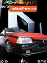Скриншот темы Renault Fuego