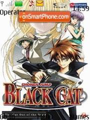 Скриншот темы Black Cat 02