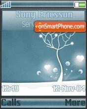 Snow Tree es el tema de pantalla