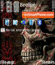 Skulle theme screenshot