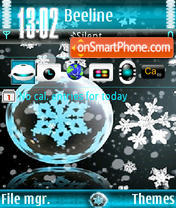 Winter Ver1 tema screenshot