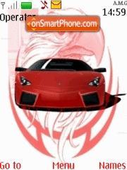 A.M.G Tuning Lamborghini theme screenshot