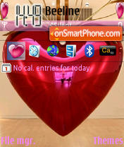 Sweet Heart theme screenshot