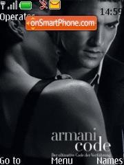 Armani v2.0 es el tema de pantalla