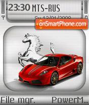 Ferrari F430 04 es el tema de pantalla